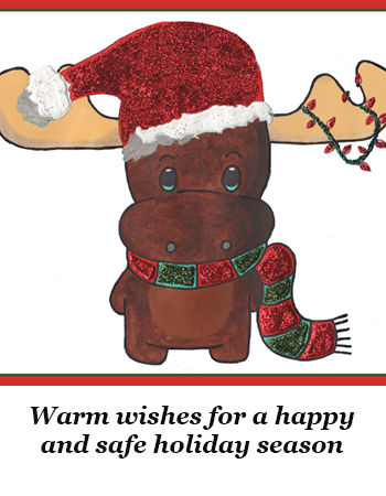 Warm Wishes for a Happy and Safe Holiday Season!